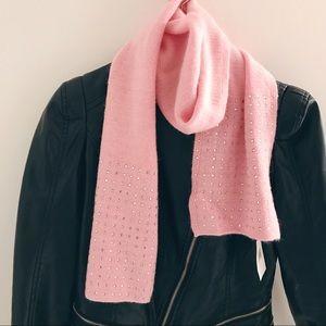 Nordstrom angora wool scarf with rhinestones NWT